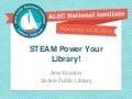 STEAM Power Your Library