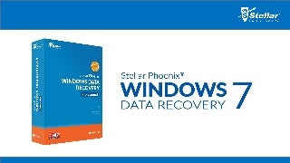 Stellar Phoenix Windows Data Recovery
