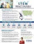 PhRMA STEM Education Factsheet 2014