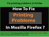 Steps to Fix Printing Problems in Firefox at 1-800-240-2551 Mozilla Tech Support Number