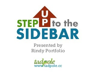 Step up to the sidebar: Making the Most of Widget Areas