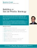 Steve Davis' 10 Steps to Building a Social Media Strategy Workshop