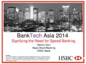 Steven Gan - Signifying The Need for Speed Banking
