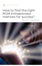 How to find the right MLM entrepreneur mentors for success?