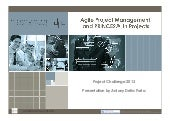 "How ""AgilePM"" and PRINCE2 were used in the same project"