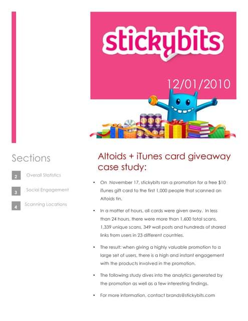 Stickybits & altoids (12.1.10)