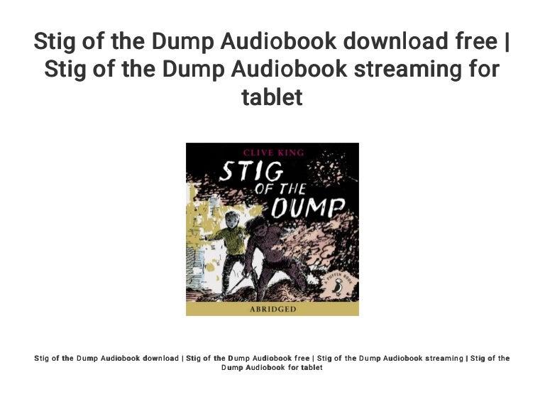 Stig of the dump audiobook download free | stig of the dump audiobook….