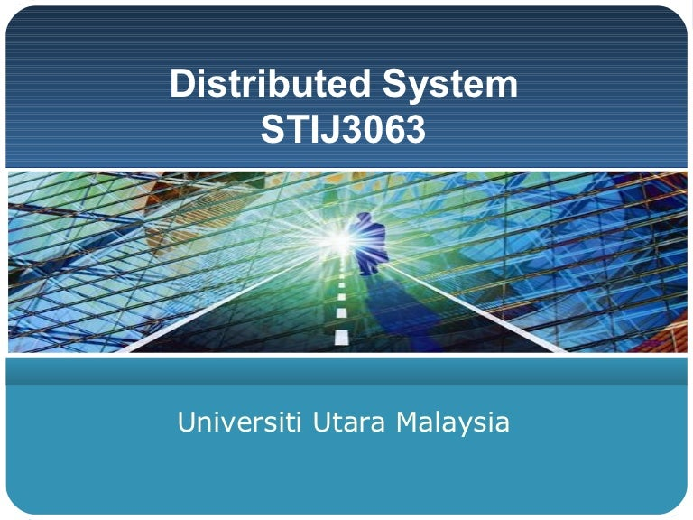 Stij5014 Distributed Systems