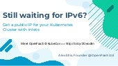 Still waiting for IPv6? Try the inlets-operator