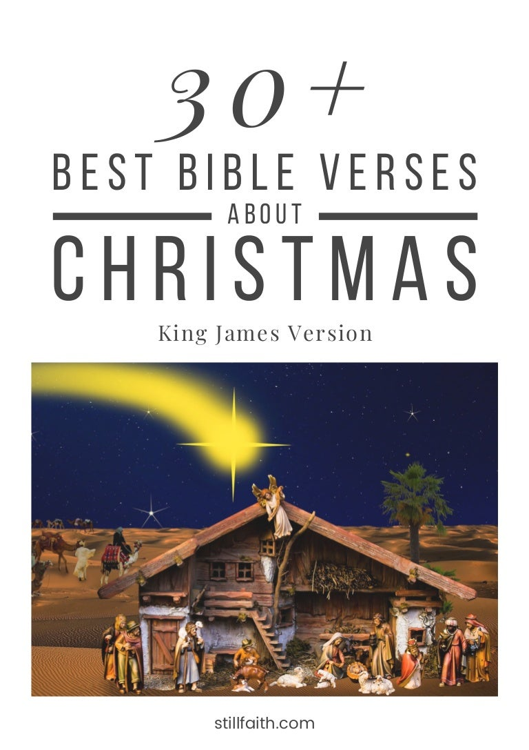 Bible Verses For Christmas.30 Best Bible Verses About Christmas