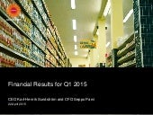 Stora enso financial result  q1 2015