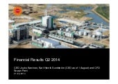 Stora enso financial result  q2 2014