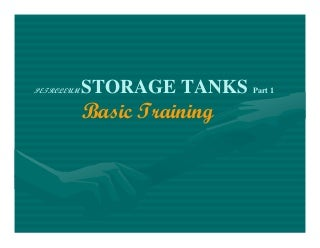 Storage tanks basic training (rev 2)