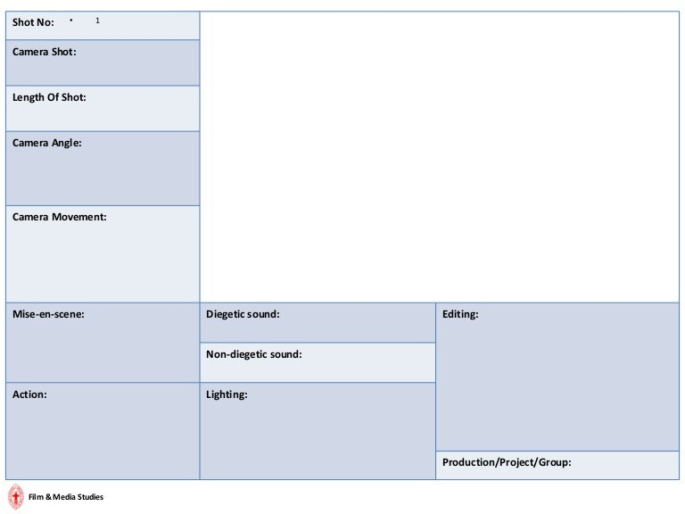 Fm1 Digital Storyboard Template