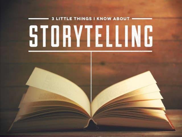 3 Storytelling Tips - From Acclaimed Writer Burt Helm