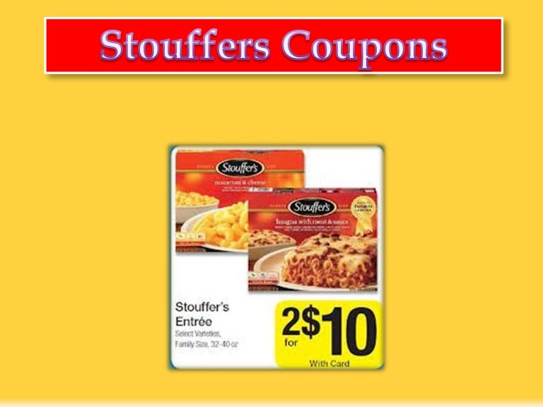 image regarding Stouffer Coupons Printable named Stouffers Coupon codes - Start out preserving upon grocery monthly bill with