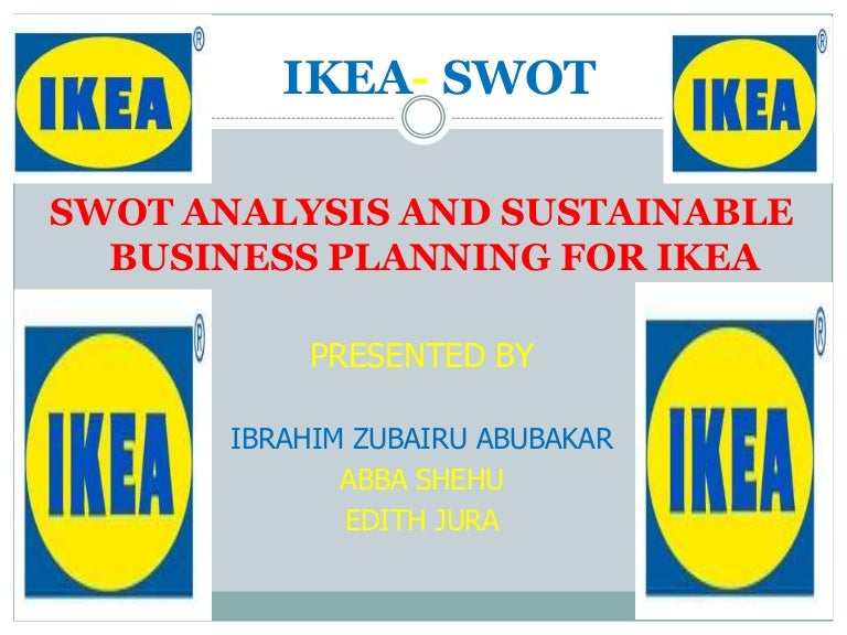 swot analysis for ikea, Presentation templates