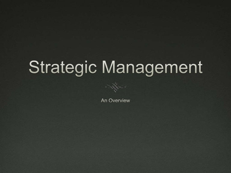 running head strategic management and Strategic consensus and firm performance: beyond  management teams strategic consensus and firm performance: beyond  management teams abstract extant research on strategic consensus focuses specifically on managers (ie, top and middle managers.