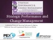 Strategic Performance And Change Management