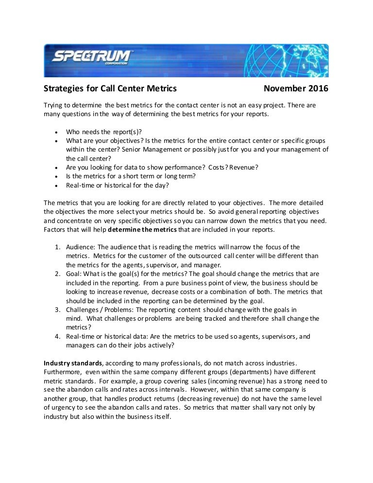 objectives how to manage a call call center objectives. objective ...
