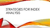 Strategies for SQL Server Index Analysis