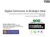 Digital Commons: A Strategic View