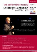 Strategy execution master class 2017 by jeroen de flander