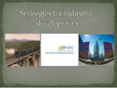 Strategies for Industrial Development