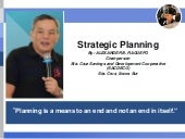 Strategic Planning for Coops