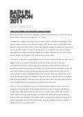 2016 fashion show press release.