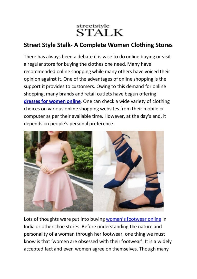 Street Style Stalk- Women Clothing Stores