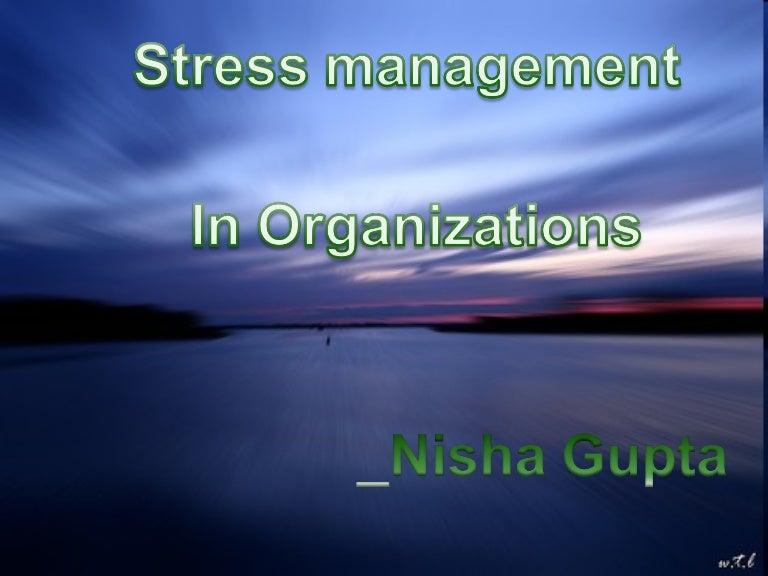 Stress management-ppt