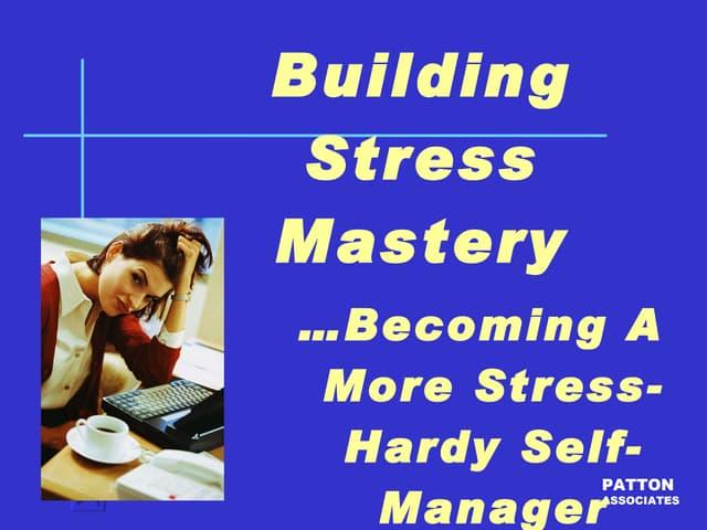 Stress Management, 2011-02-21