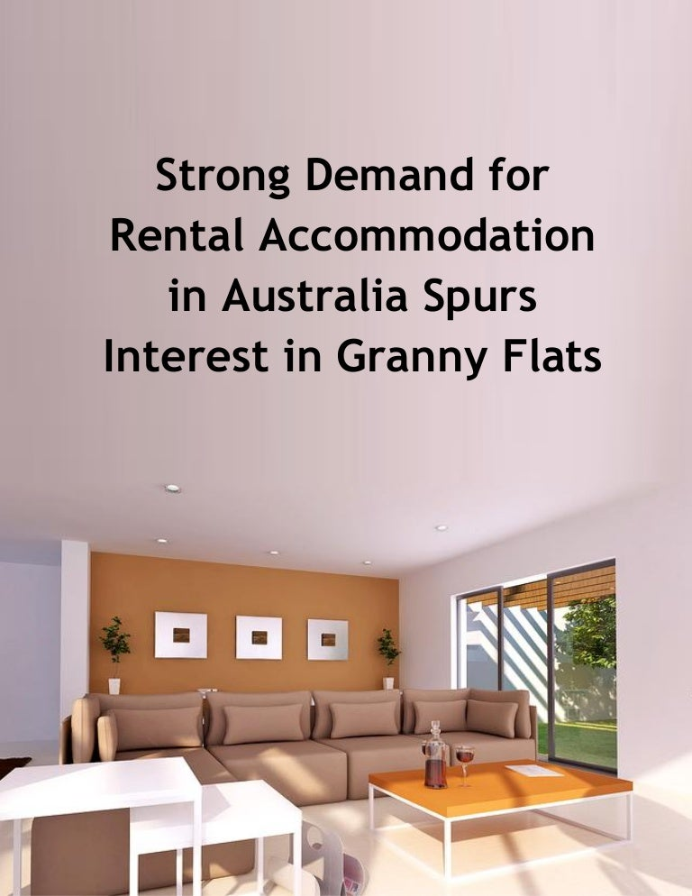 Strong Demand For Rental Accommodation In Australia Spurs Interest In