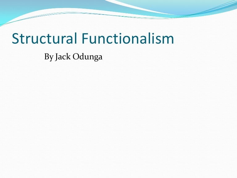 functionalism was founded by
