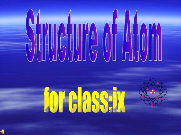 Structure of atom1 monika khurana ccuart Choice Image