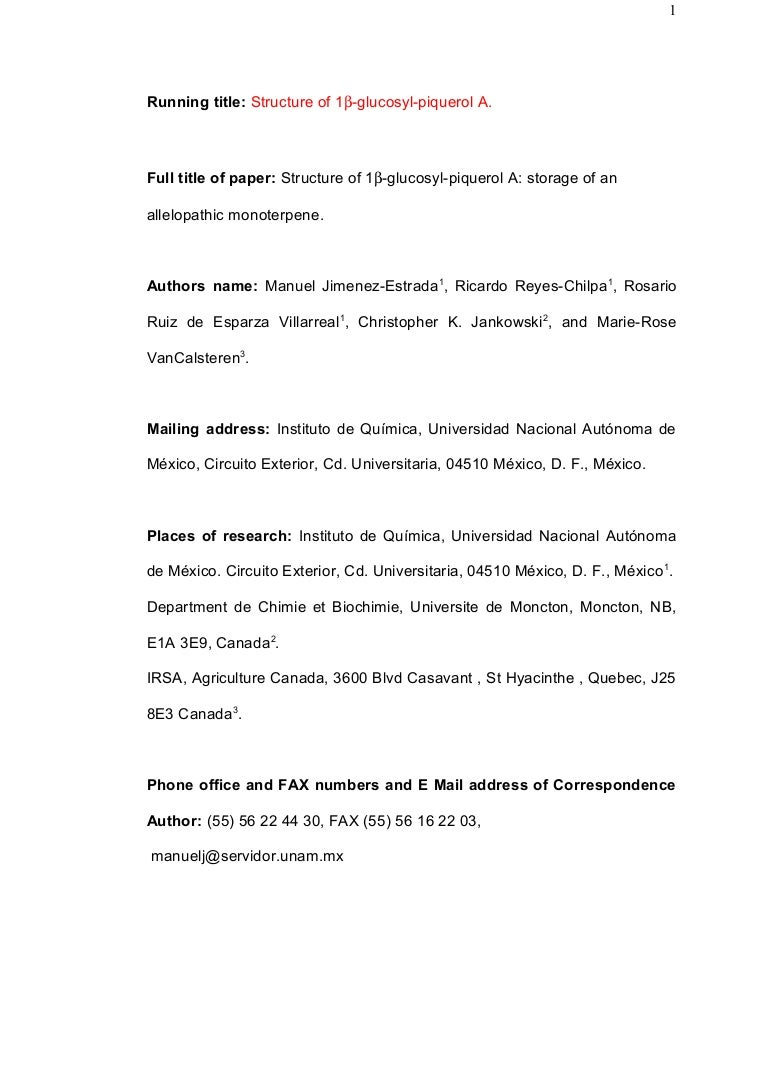 Circuito Vascular : Structure of 1 glucosyl piquerol a. version final final[1]