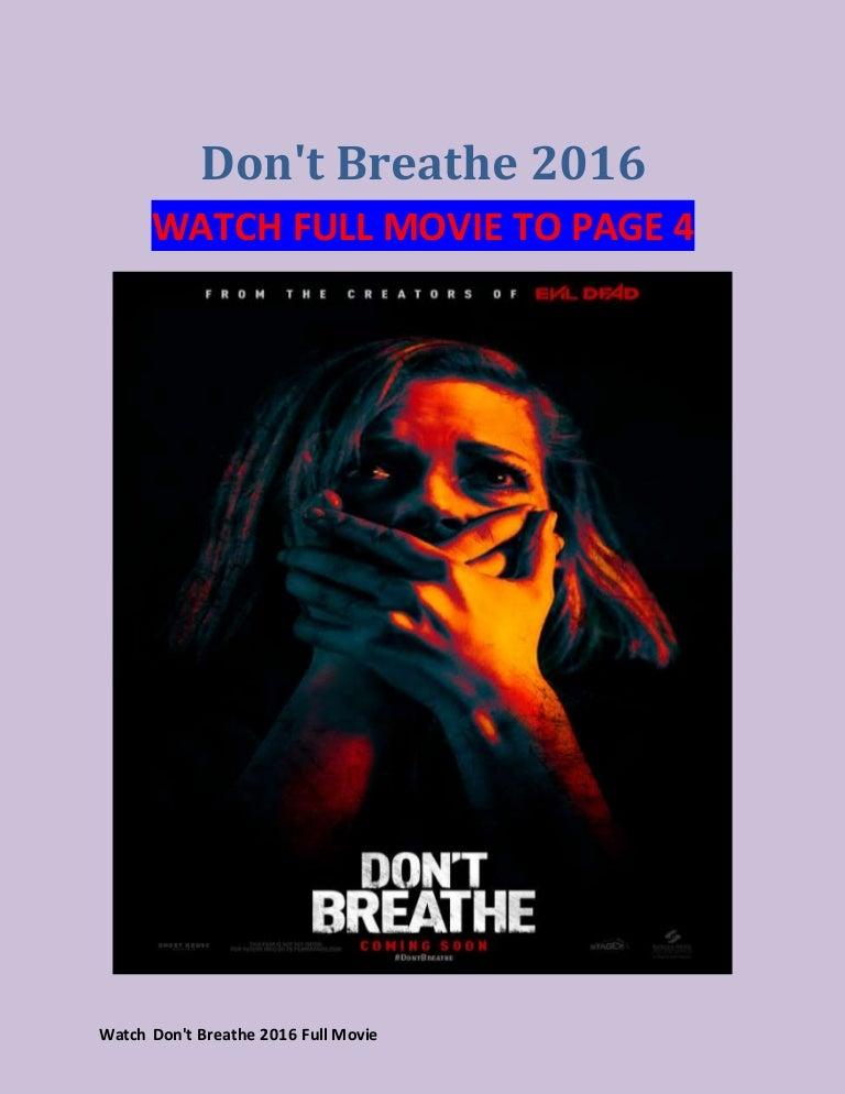 DonT Breathe Watch Online