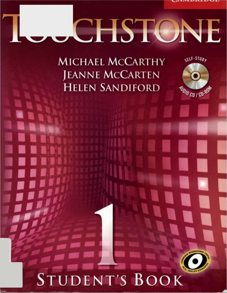 Student book touchstone 1