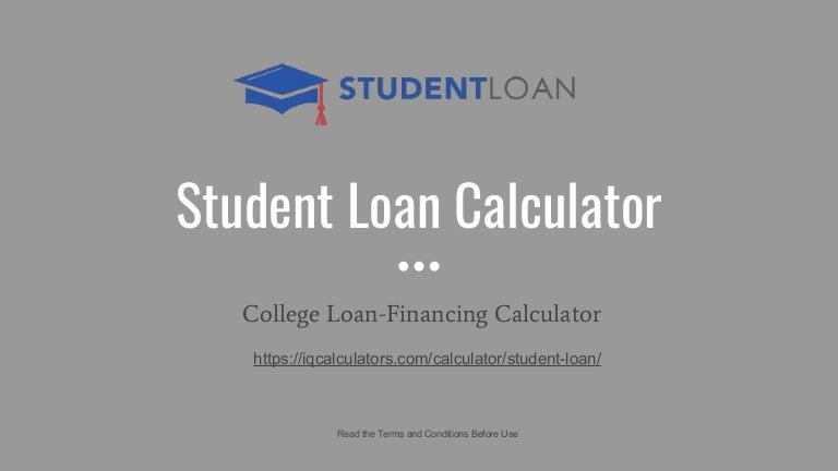 student loan calcultor student loan prepayment calculator pay off