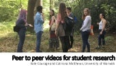 Peer to peer videos for student research - Courage & Matthews