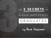 The 3 Secrets of Highly Successful Graduates