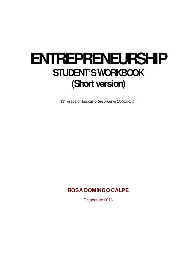 Students workbook (short version)