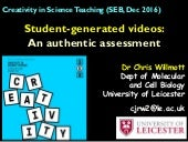 Student-generated videos: An authentic assessment