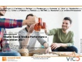 Studiensteckbrief Studie Social Media Performance Brauereien 2021