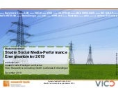 Studie Social Media-Performance Energieanbieter 2019