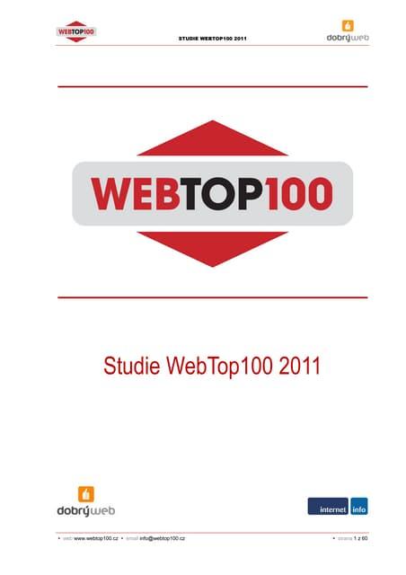 Studie WebTop100 2011