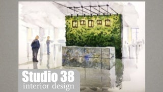 Презентация Studio 38 Interior design