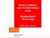 Study in Holland - OTS: Engineering and Technology