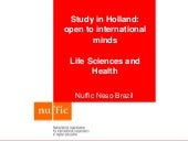Study in Holland - OTS - Life Sciences and Health